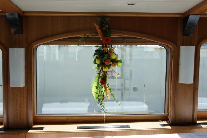 Décoration sur le bateau le Lavaux N° 30