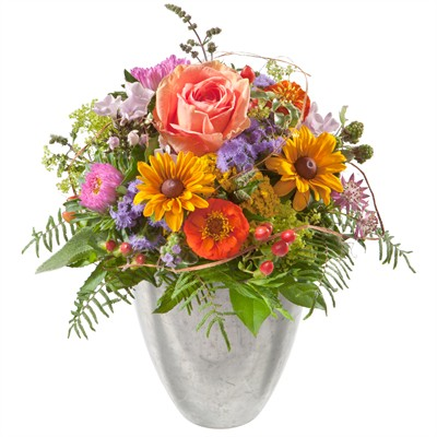 Petit messager fleuri ( sans vase )  N° 2