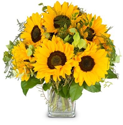 Bouquet de saison sans vase N° 4