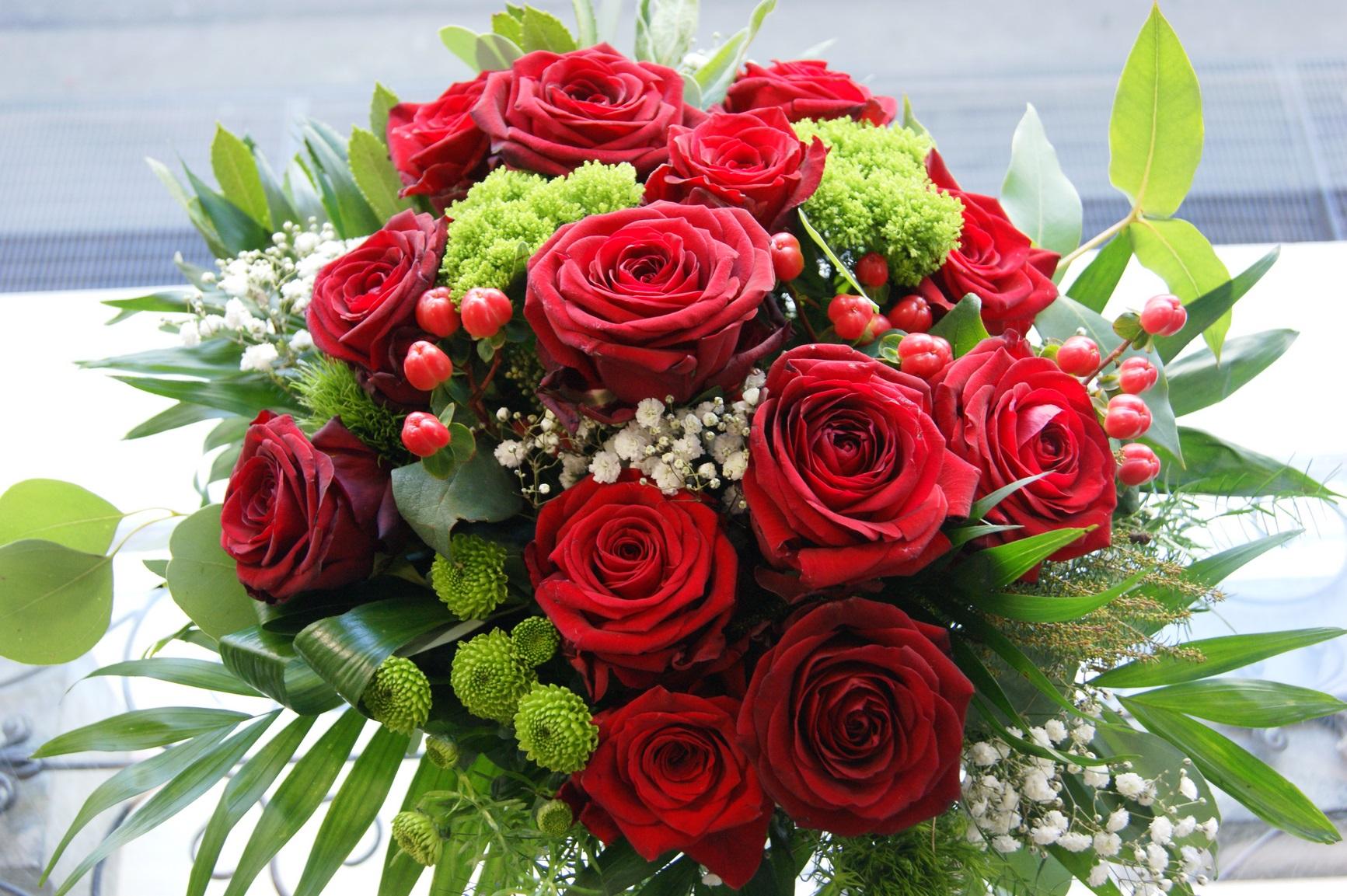 Bouquet de roses rouges N° 3