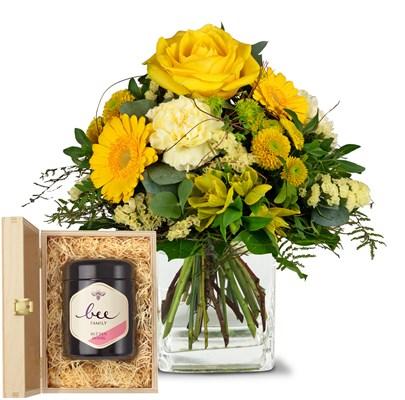 Sunny Vibes avec du miel de fleurs suisse N°4 H