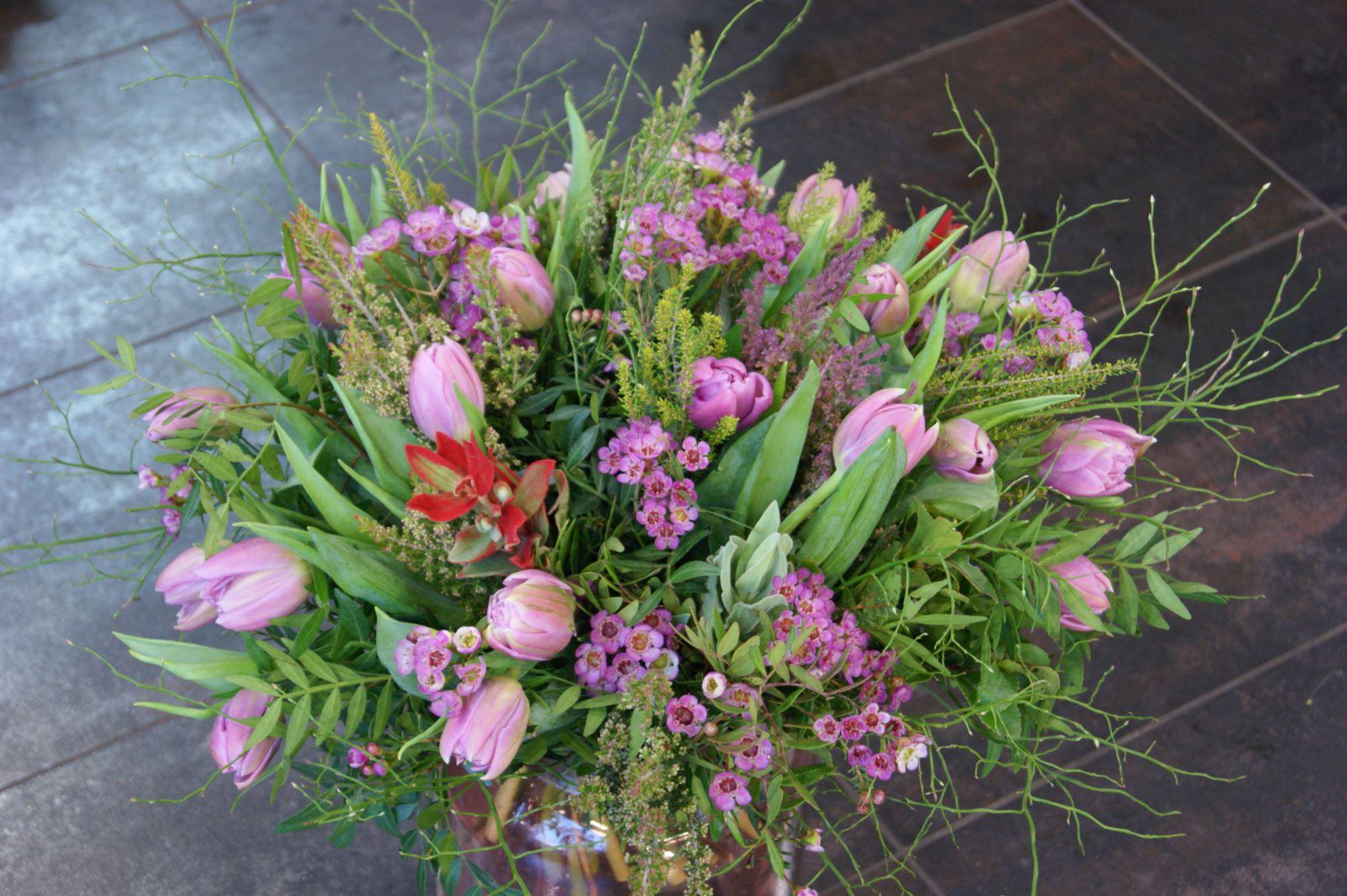 Bouquet de tulipes N° 23