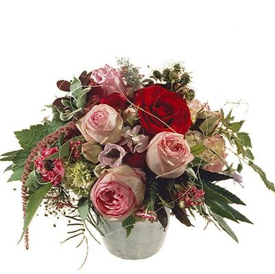Poésie avec des roses (sans vase ) N°1