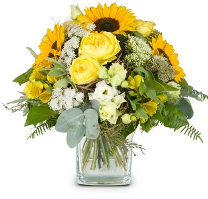 Bouquet de saison sans vase N° 2