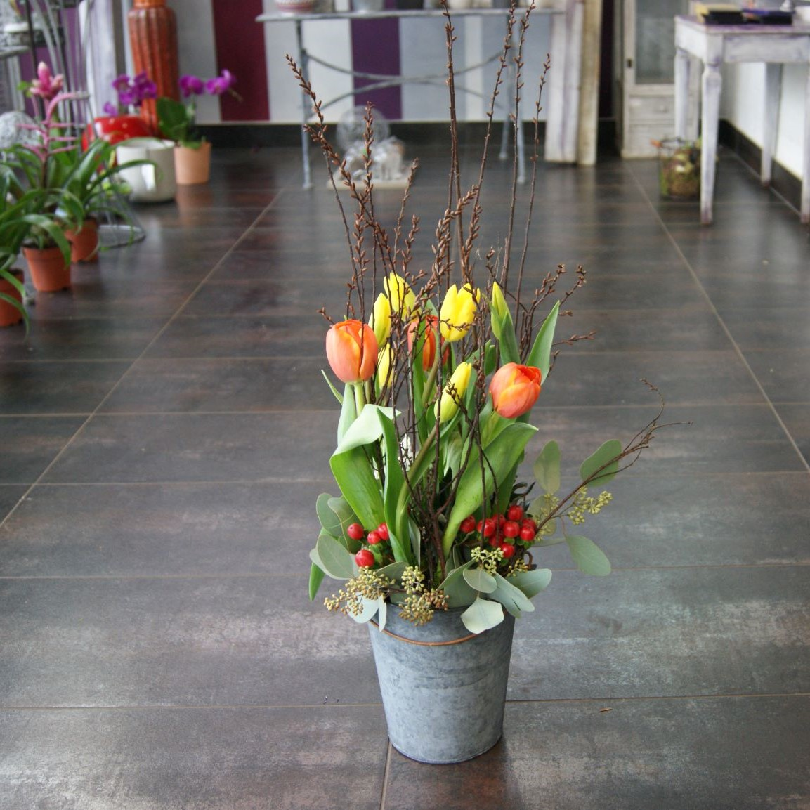 Arrangement de tulipes N° 8