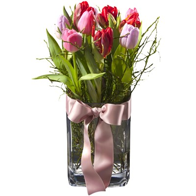Arrangement de tulipes (vase incl.)  N° 7