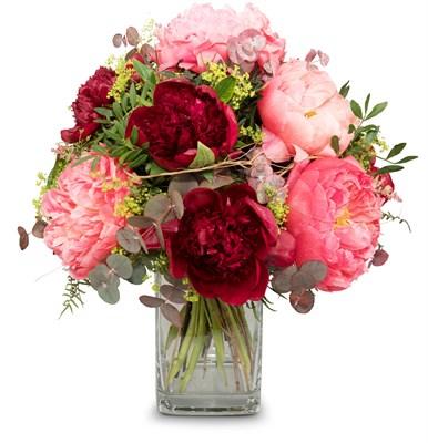 Bouquet de saison Pivoines N°1