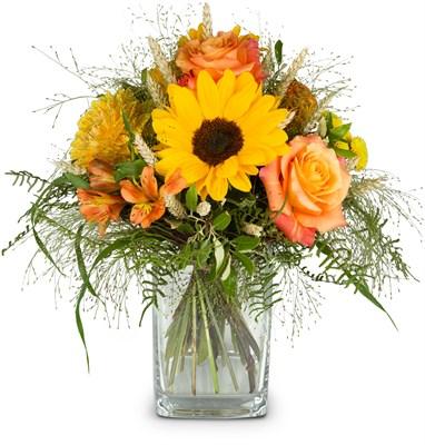 Bouquet de saison sans vase  N° 1