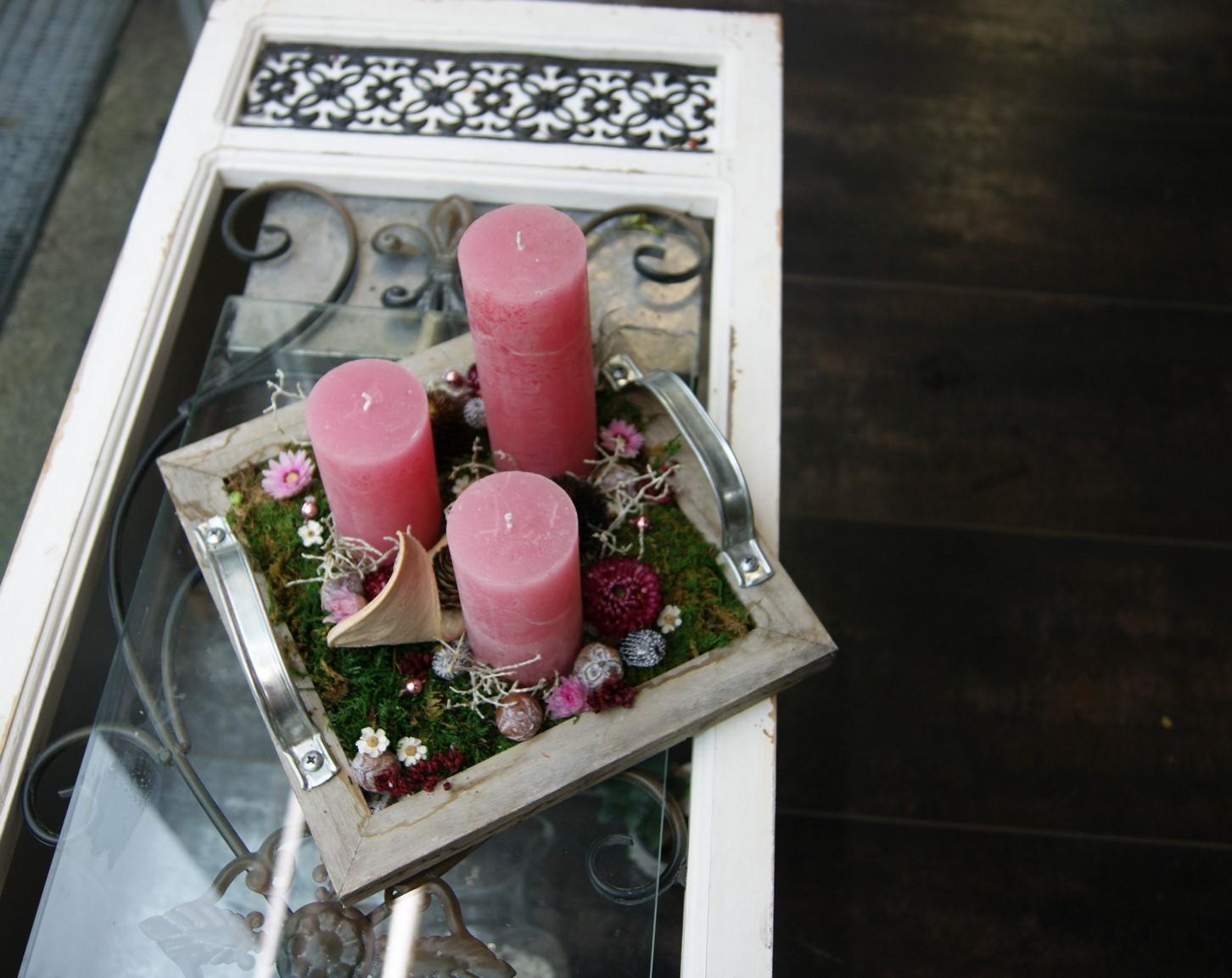 Arrangement de Bougies N° 18