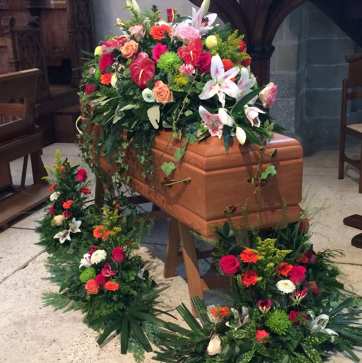 Décorations de cercueil complet N°55