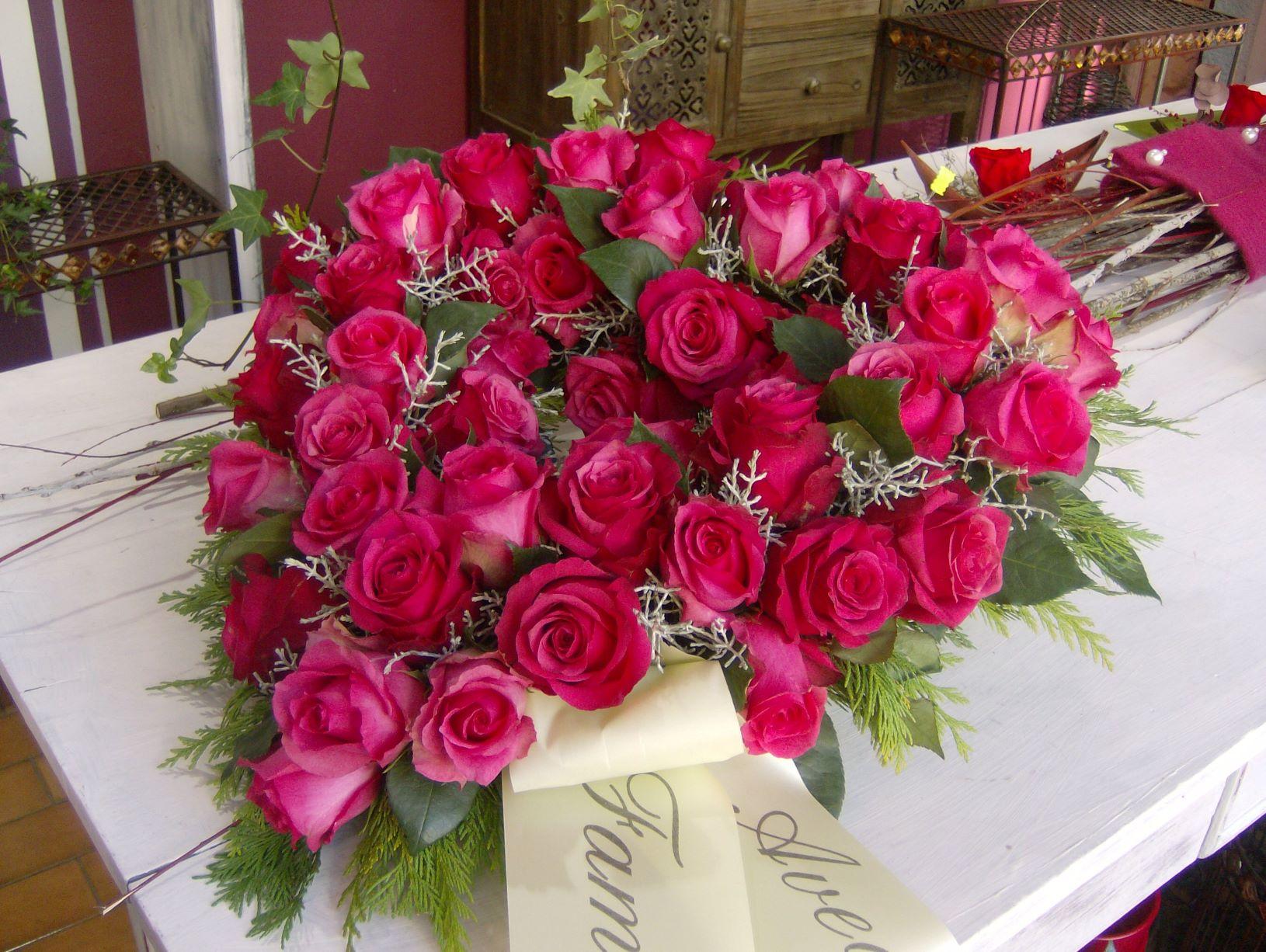 Cœur roses Pink N° 27